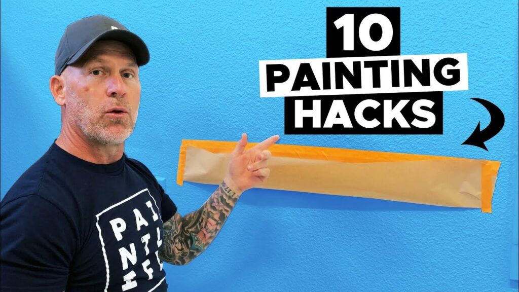 10 AMAZING Painting Hacks.  Paint Like a PRO.