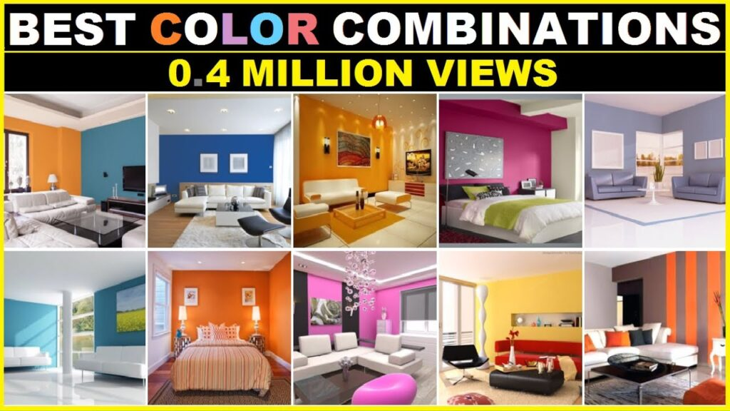 Best Colour Combinations for House, Living room Color, Bedroom color Ideas, Interior Wall paint Idea