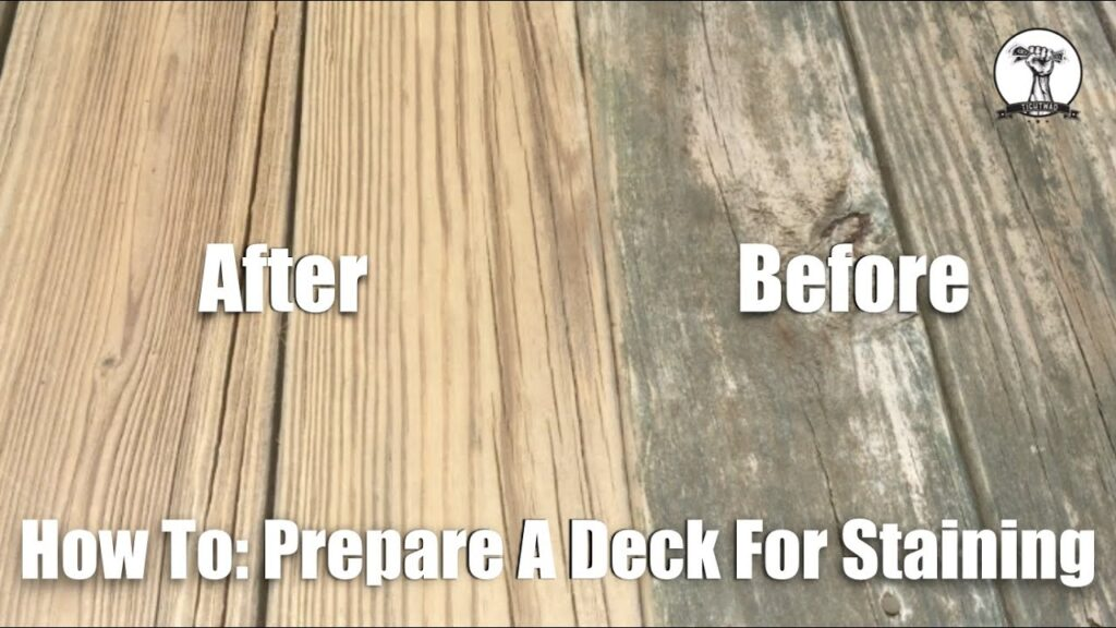 How To: Prepare Your Deck for Stain