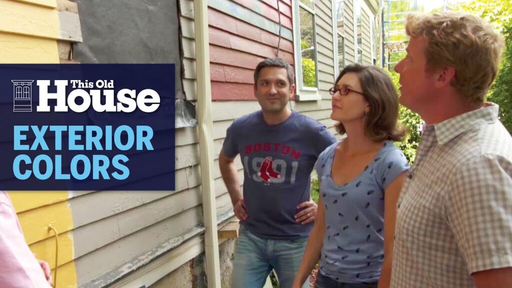 How to Choose Exterior Paint Colors | This Old House