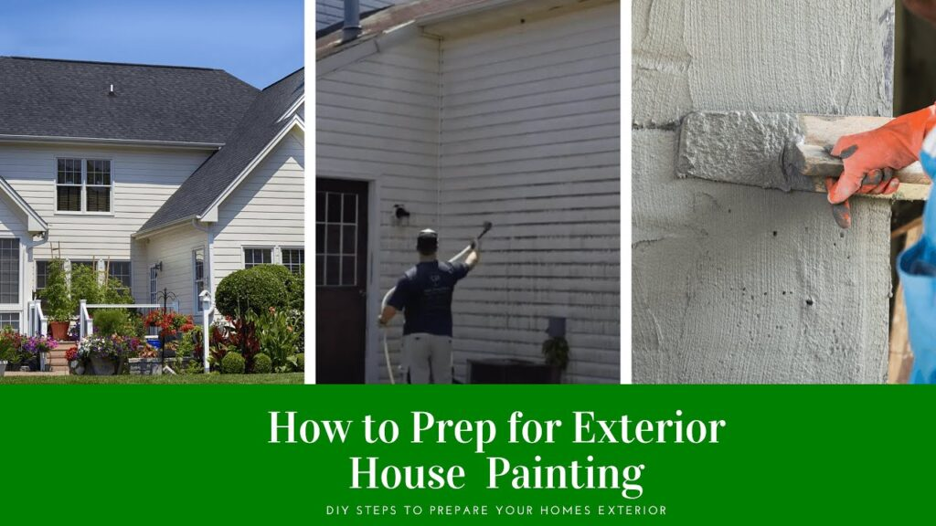 How to Do Exterior House Painting Prep