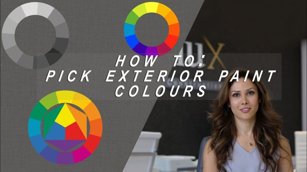 How to Pick Exterior Paint Colours For Your Home