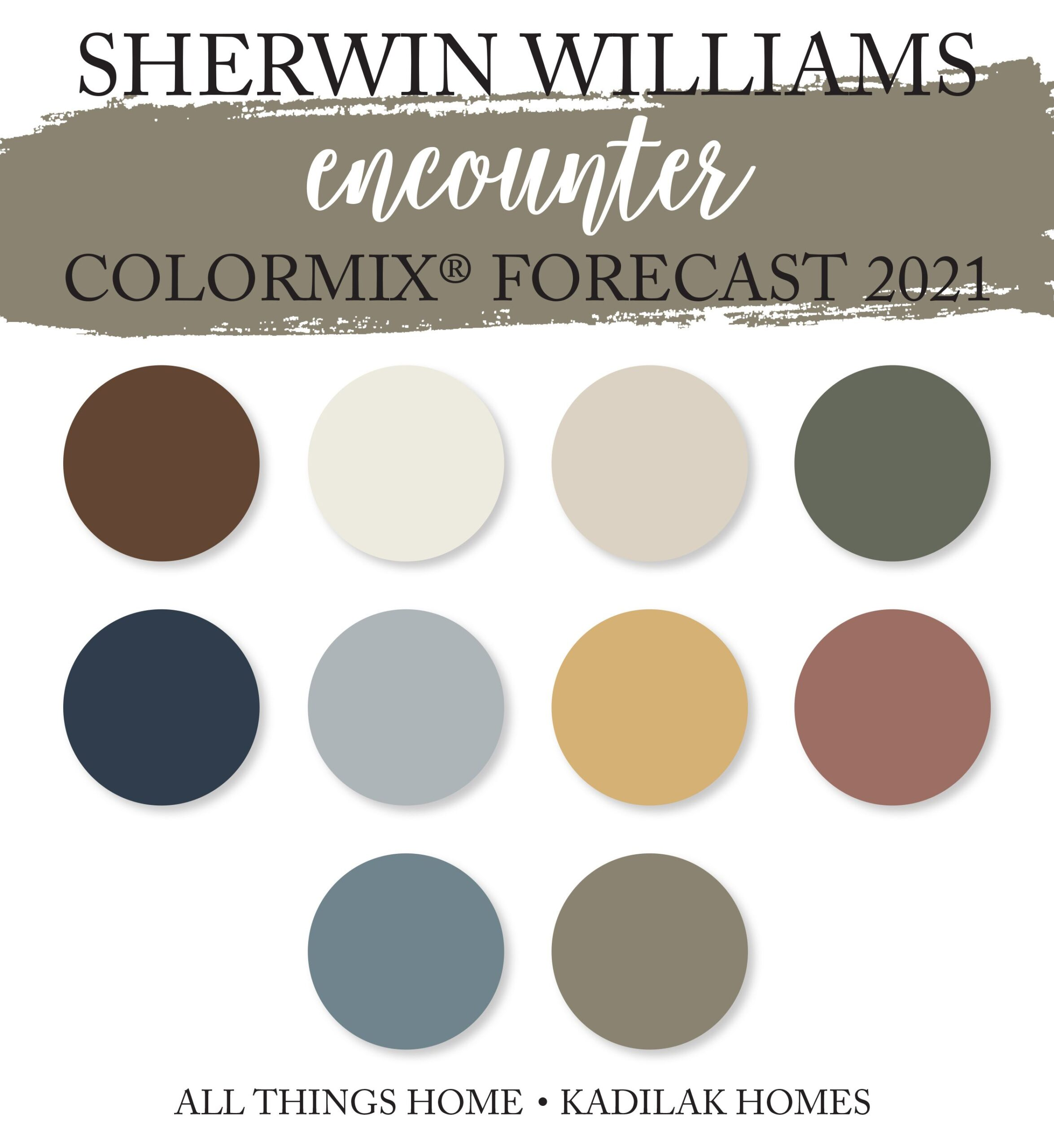 Sherwin Williams Colormix® Forecast 2021!