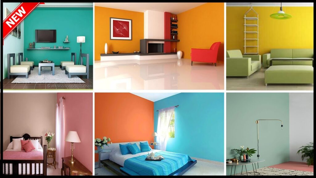 Top 40  Latest Colour Combination For Room In 2020 Catalogue | Modern Colour | Gopal Home Decor
