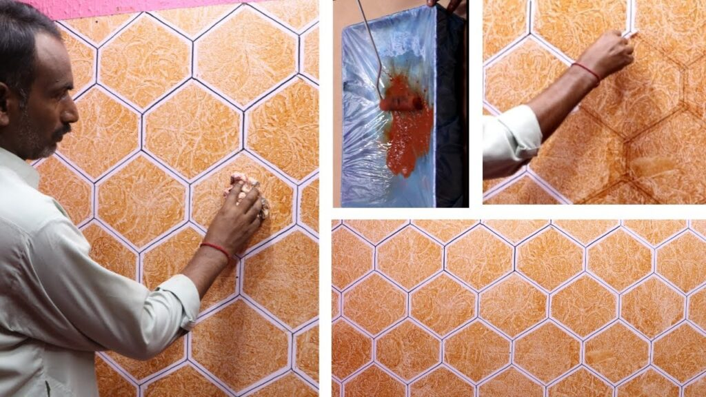 easy and simple wall painting ideas for interior design | new home decorating ideas for walls