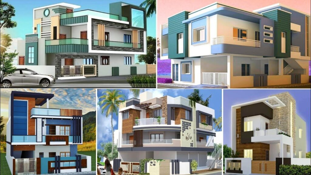 top 25 best colour combination For Exterior House painting ideas | best outside design in colour